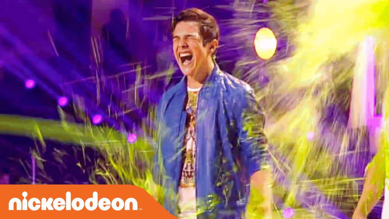 Kids' Choice Awards 2014 | Austin Mahone & Cody Simpson's Double Slime! | Nick