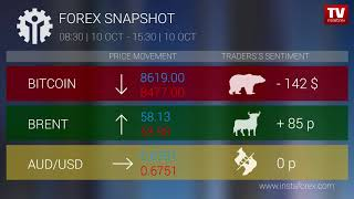InstaForex tv news: Who earned on Forex 10.10.2019 15:30