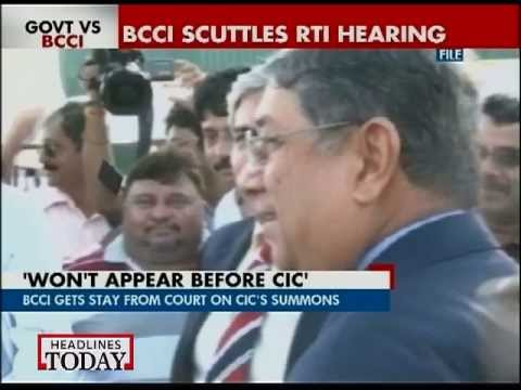 BCCI gets stay from court on CIC's summons