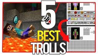 5 Ways to Troll Your Friend in Minecraft