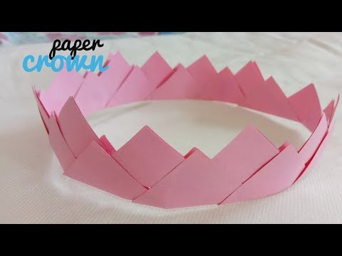 DIY: How To Make Paper Crown- Easy & Simple Paper Craft