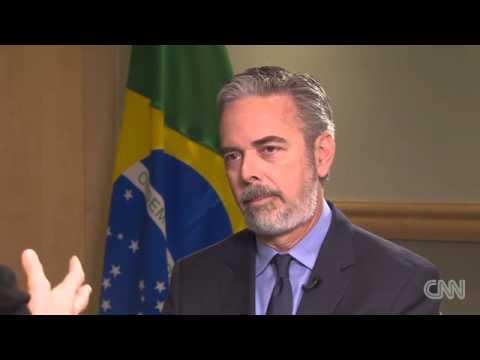 Entrevista do Ministro Antonio de Aguiar Patriota à CNN. 25/03/2013 [em Inglês]