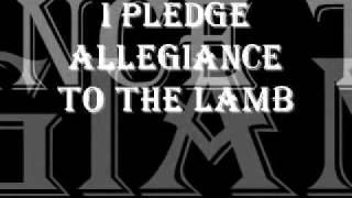 I Pledge Allegiance to the Lamb 2
