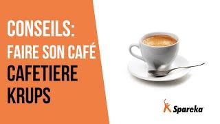Astuce: Comment faire son café avec une machine Krups ?
