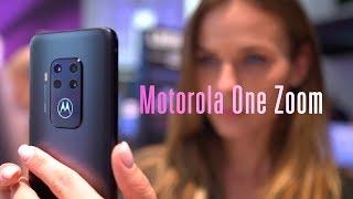 Знакомство с Motorola One Zoom