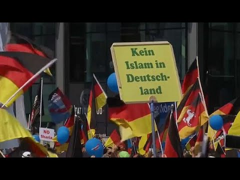 AfD-Großdemonstration in Berlin
