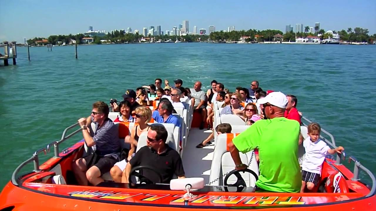 Thriller Boat Tour Miami Fl
