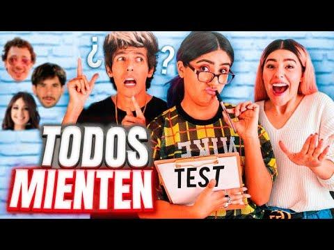 RESPONDIENDO TEST DE YOUTUBERS | LOS POLINESIOS RETO