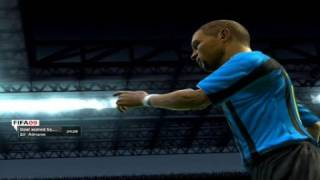 FIFA 09 Be A Pro Mode Inter VS AC Milan