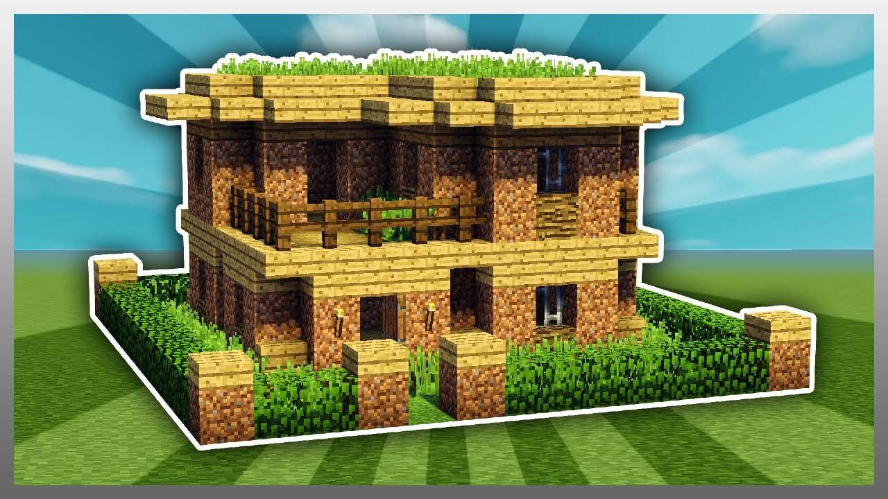 Ufe0f How To Upgrade A Dirt House   Minecraft