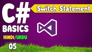 C# tutorials for beginners in Hindi / Urdu  (User Input and Switch statement)[05]