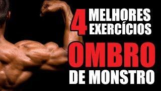 treino de ombros os 4 melhores exercícios