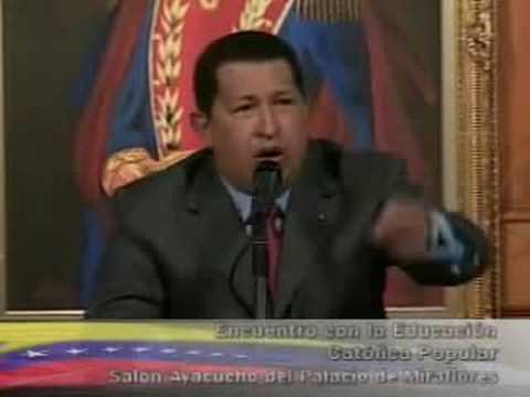 Chávez y el Banco de Santander