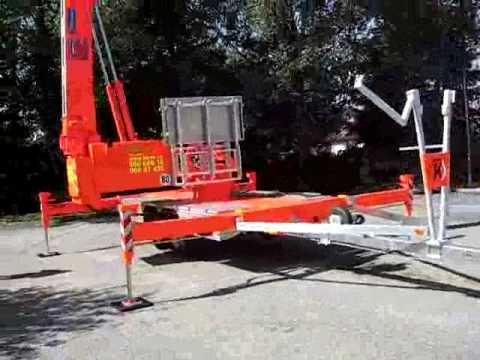 Trailer Crane Klaas K20-30TS, Tilhengerkran, tilhengermontert kran