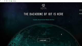 ✅ IOTA (MIOTA, ЙОТА) Обзор, Прогноз 2018, Как купить и где хранить криптовалюту?