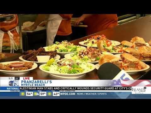Amanda Live at Pranzarelli's Pizza - Good Morning Carolinas - WPDE ABC 15
