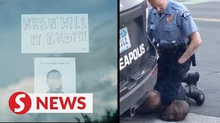 Four officers fired after death of unarmed black man