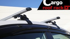 Universal Rooftop Roof Rack Crossbar Installation Guide by LT Sport CB-SU-4DL