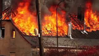 Pożar domu w Jagniątkowie