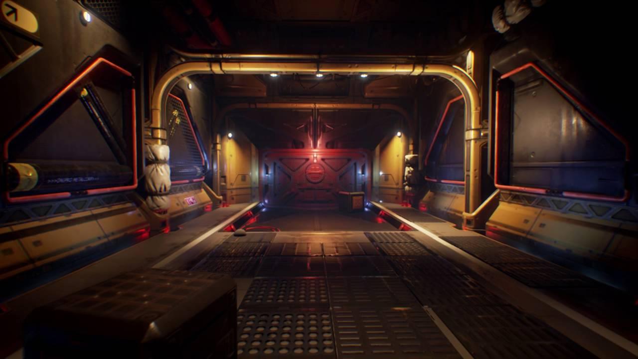 Spaceship Interior Environment Set [UE4]   YouTube