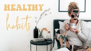 Healthy Habits For Feeling Stressed & Overwhelmed | Mind & Body