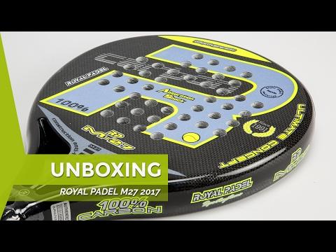 unboxing-royal-padel-m27-negra-gris-2017