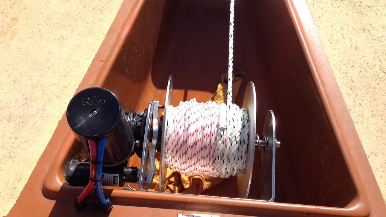 maxresdefault stressfree marine anchor winch up cycle youtube lone star anchor winch wiring diagram at eliteediting.co