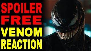 Venom Movie Reaction (With No Spoilers)