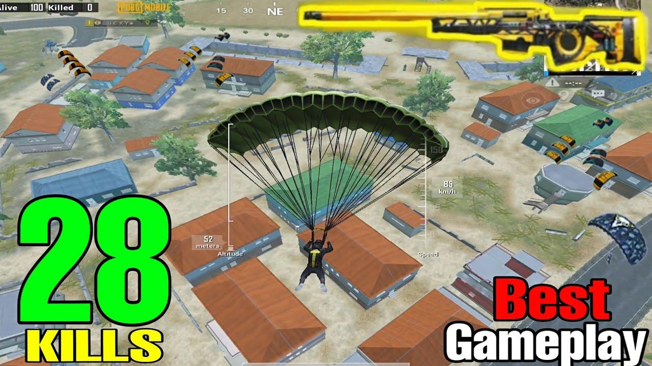 BEST GAMEPLAY IN SEASON 14   28 KILLS SOLO VS SQUAD   PUBG MOBILE