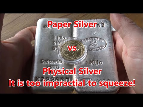 This is Why the SLV Exists & Why Paper Silver Can't Fail - Delivery of Physical Silver is Expensive!