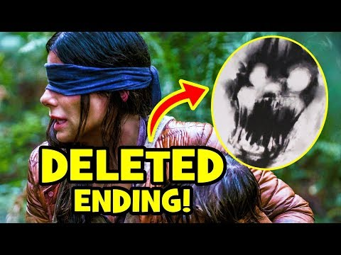 Bird Box ALTERNATE ENDING & Deleted Scenes Explained