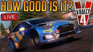 V-Rally 4 First Impressions   Is it any Good? Or am I just rubbish at it?