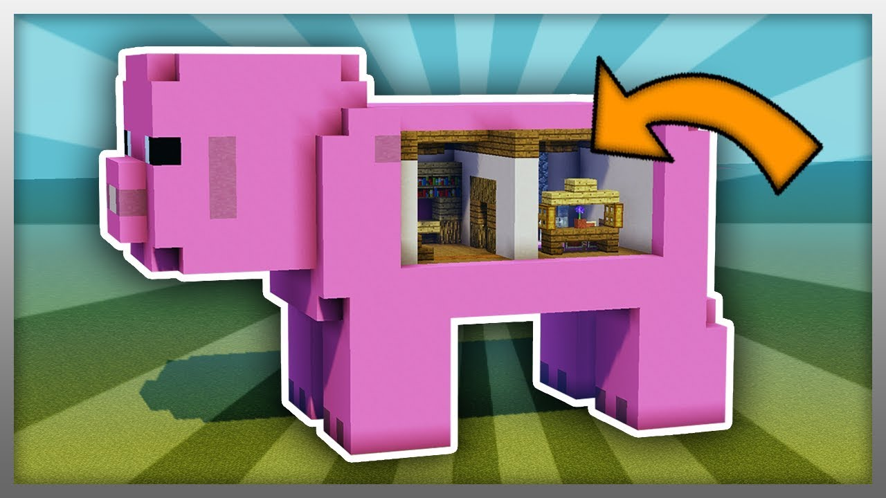 How To Build A Pig House Minecraft Youtube