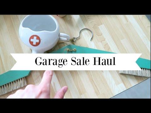 Huge Garage Sale Haul Home Decor Clothing Toys Youtube