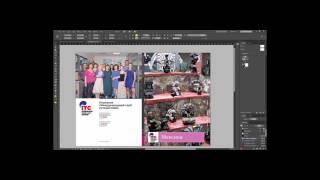 Как сверстать обложку в индизайне с учетом корешка (для версий CS6 и выше)