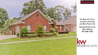 8806 Belmont Park Dr., Theodore, AL Presented by Synergy Realty Group.