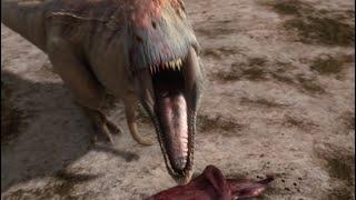 Mapusaurus gang Vs. Argentinosaurus | Planet Dinosaur | BBC