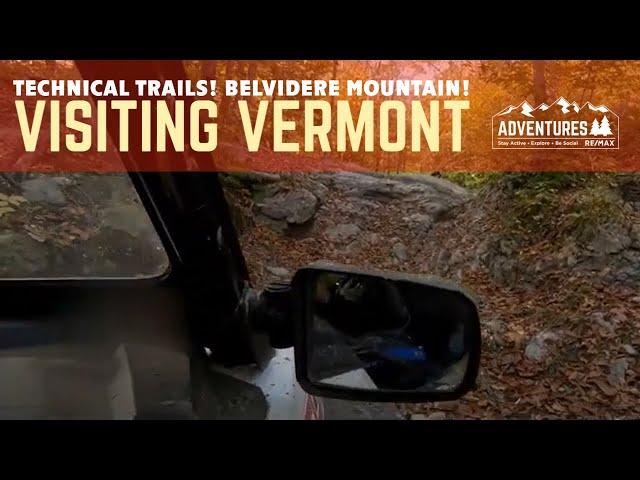 Belvidere Mountain Road - SxS technical trail-Vermont