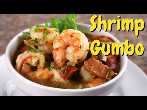 SHRIMP GUMBO with AMERICAN Shrimp