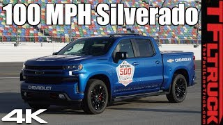 Come Ride Along in the Daytona 500 Chevy Silverado Pace Truck!