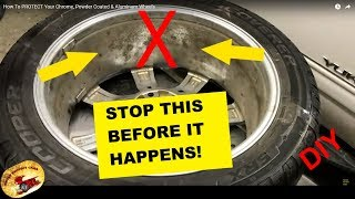 How To STOP Wheel CORROSION Before it Starts...diy