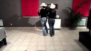 SHARING TIME DECOMPOSEE - Danse Country en Couple, de Style Catalan