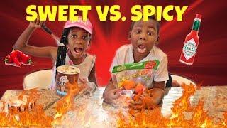 Spicy vs Sweet Challenge
