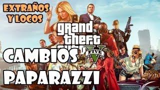 Grand Theft Auto 5 Gameplay Walkthrough - Extraños y Locos: Cambios y Paparazzi
