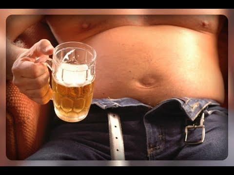 Как убрать пивной живот!! 6 проверенных способов