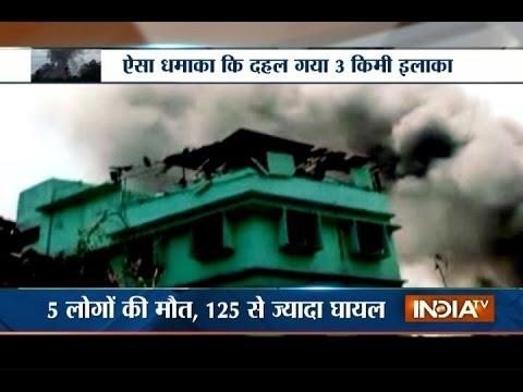 Mumbai: Massive Boiler Blast at a Chemical Factory near Dombivli Area