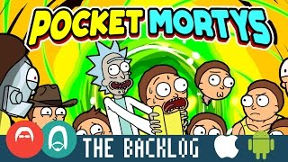 Rick and Morty: Pocket Mortys (iOS/Android 2016) - Why are mobile games on here? - The Backlog