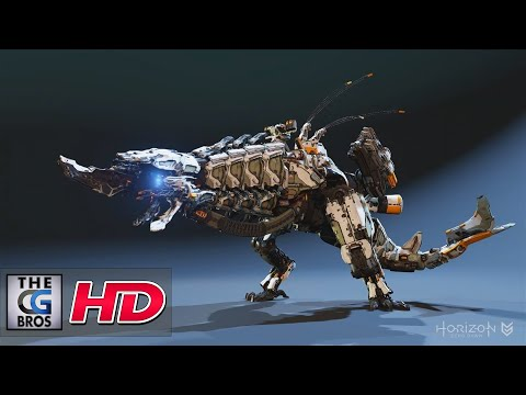 "CGI & VFX Showreels: ""Horizon Zero Dawn Animation Reel"" - by Richard Oud"
