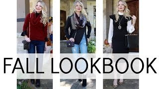 FALL LOOKBOOK | OUTFIT & STYLING IDEAS | BusbeeStyle com