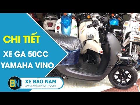 Xe Ga 50cc Yamaha Vino | Giá 70.000.000đ ⏩ Sự Kết Hợp Hoàn Hảo Honda - Yamaha(4K)